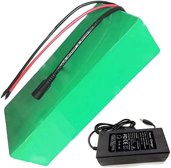 Seilylanka 48V 12Ah 13S4P Li-Ion Pacco Batteria E-Bike Bicicletta elettrica Ebike 250 * 80 * 70mm Accetta Personalizzazione con Caricabatterie