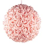Homeford-FPF0250300PK-Soft-Touch-Foam-Kissing-Ball-Wedding-Centerpiece-14-Pink