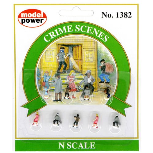 (Model Power - Working People/Pedestrians -- Crime Scenes Figures - N)