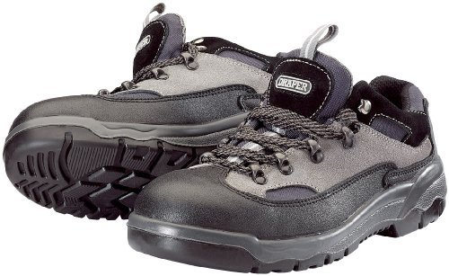 Draper 49408 Metal Toecap and Mid-Sole Safety Work Boots, Trainers S1PA Standard Size 5 by Draper by Draper Tools Ltd