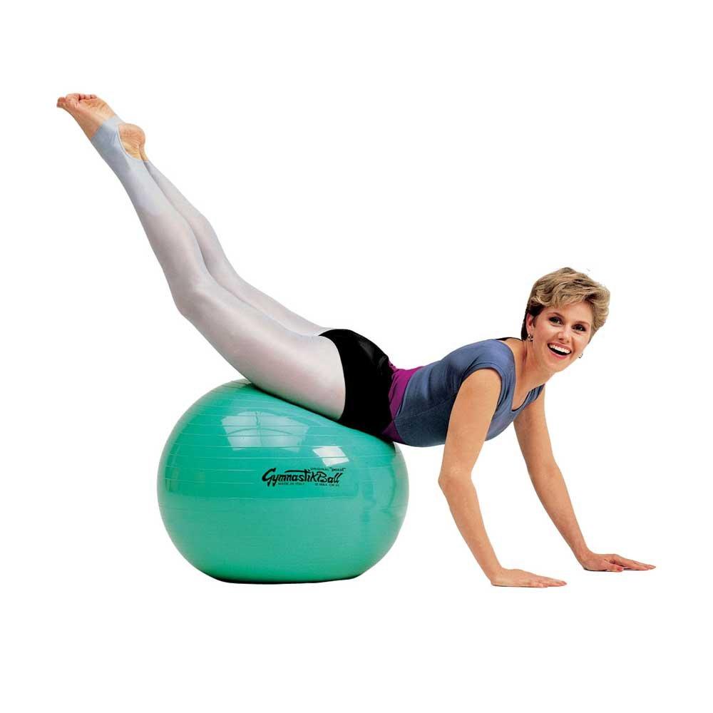 1x Behrend Gymnastikball Pezzi Ball Fitnessball Sportball ezziball hochelastisch, Kunststoff, 85 cm, blau