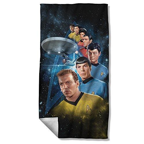 Star Trek Among The Stars Beach Towel