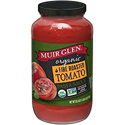 Muir Glen Organic, Pasta Sauce, Fire Roasted Tomato, 25.5 oz