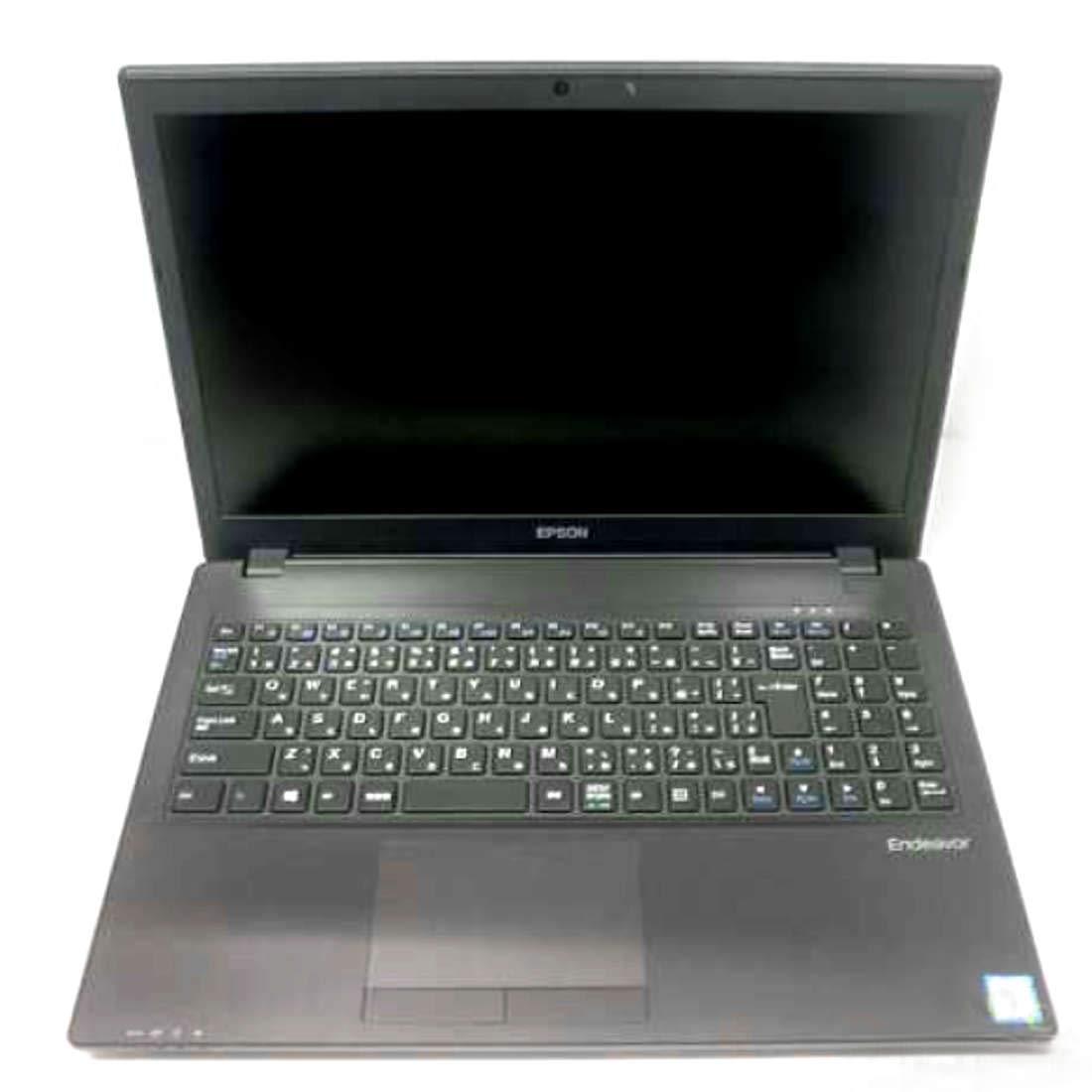 EPSON テンキー付ノートパソコン 15インチ ENDEAVOR NJ6100E (officeなし)(光学ドライブなし) オリジナル布ダストカバー[プレゼント セット]   B07QR13XGN