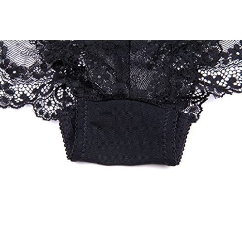 77137dc7a21e3 Varsbaby Women Push Up Embroidery Bras Set Lace Lingerie Bra and Panties 3  Piece 50%