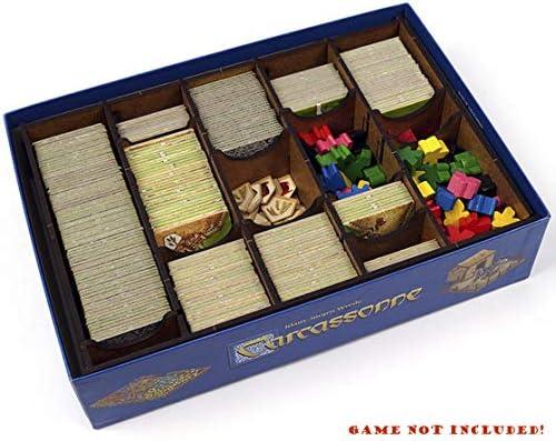 docsmagic.de Organizer Insert for Carcassonne Box - Encarte: Amazon.es: Juguetes y juegos