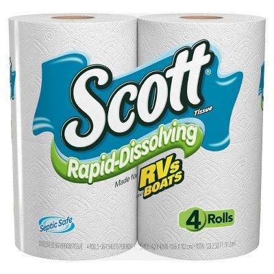 ' Rapid-dissolving Bath Tissue - 48 Rolls