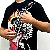 12 Major Chords Electric Rock Guitar T-shirt and