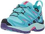 Cheap Salomon Unisex-Kids XA Pro 3D CSWP K Trail Running Shoe, Blue Curacao, 11K M US Little Kid