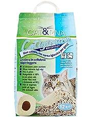 Cat&Rina Long Life Lettiera per Gatti ai Cristalli di Silicio, Confezione da 12 L
