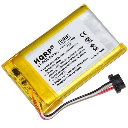 - HQRP Battery compatible with MiTAC DigiWalker Mio C320 C320b C323 C520 C520t GPS Receiver plus HQRP Coaster