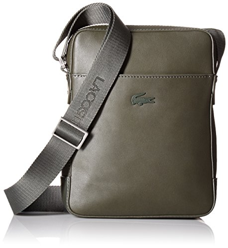 Lacoste Men's Full Ace Vertical Camera Bag, Forest Night by Lacoste