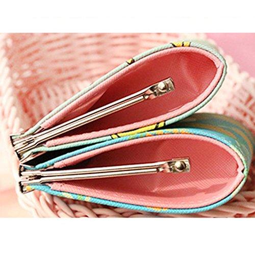 Bolsa Hebilla Bolso Purse Versión Girls Kaninchen Coin 10 Estudiante 9 Size Fresco Cambio Cm 5 Lubier Clave ananas Paquete Femenino Pu De La Lindo Kids Corta 0 wqU0W5I
