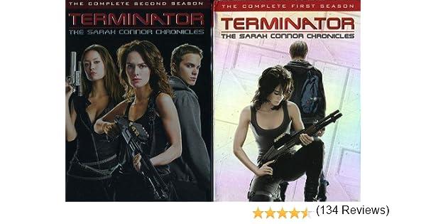 Terminator: Sarah Connor Chronicles - Seasons 1&2 Reino Unido DVD ...