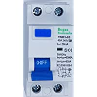 Interruptor diferencial superinmunizado SI, 30 mA, 2P, 40