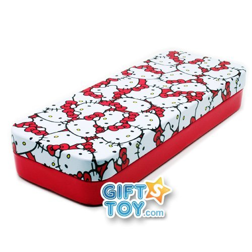 Sanrio Hello Kitty Tin Pencil Case (Face) by Hello Kitty