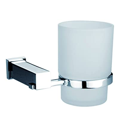 Dawn 8202S cuadrado serie único cristal vaso para cepillo de dientes soporte
