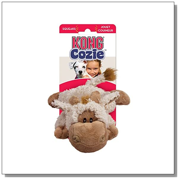 KONG Cozie Tupper the Lamb, Medium Dog Toy, Tan