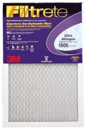 - 14x20x1 (13.7 x 19.7) Filtrete 1250/1500 Ultra/Advanced Allergen Filter by 3M