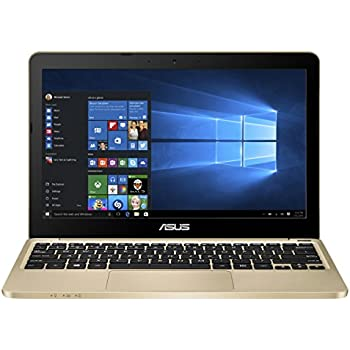 ASUS E200HA Portable Lightweight 11.6-inch Intel Quad-Core Laptop, 4GB RAM, 32GB Storage, Windows 10 with 1 Year Microsoft Office 365 Subscription