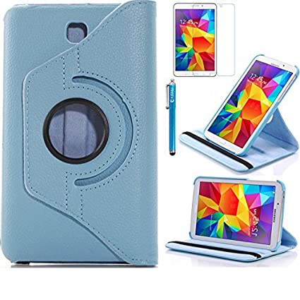 best sneakers 22ffc 8783b Tab 4 7.0 Case, AiSMei Rotating Case For Samsung Galaxy Tab 4 7.0  SM-T230,SM-T231, SM-T230NU Tablet PC,7-Inch PU Leather Case [Bonus  Stylus+Screen ...