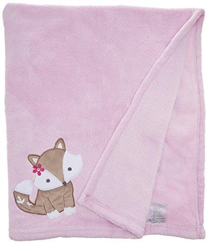 Bedtime Originals Blanket, Lavender Woods - Lambs & Ivy Bedtime Blanket