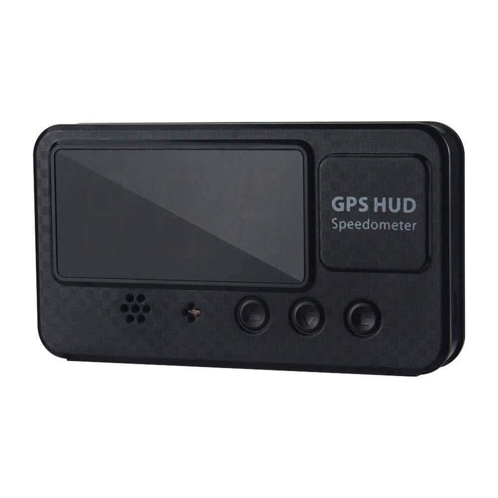 Affichage De Vitesse De Compteur De Vitesse De Voiture GPS De C60S Digital KM//H MPH pour La Moto De V/élo De Voiture