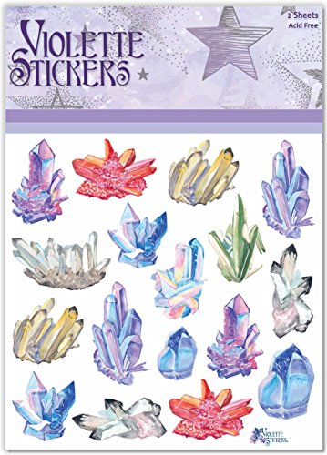 Violette Stickers Crystals