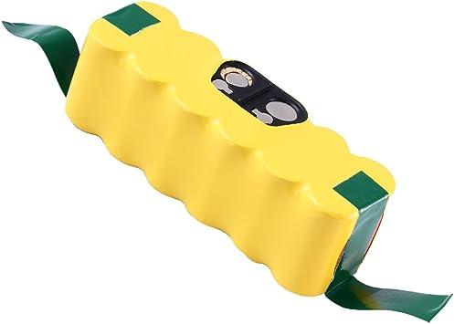 Boetpcr 3000mAh Ni-MH Repuesto para iRobot Batería 14.4v Roomba Aspiradora 500 600 700 800 Serie 500 510 520 530 532 534 535 540 550 552 555 560 562 570 580 581: Amazon.es: Bricolaje y herramientas