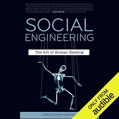 Social Engineering: The Art of Human Hacking by Audible Studios