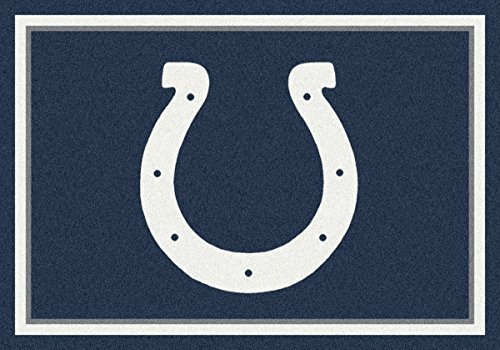 Indianapolis Colts NFL Team Spirit Area Rug by Milliken, 10'9