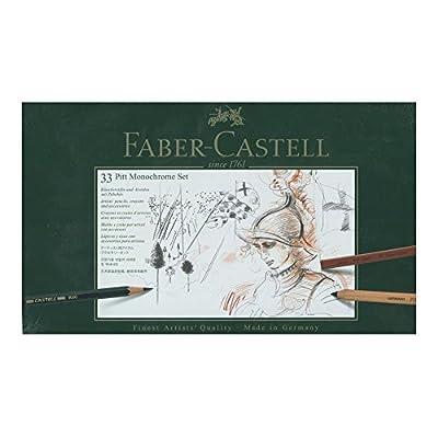 Faber-Castell Pitt Monochrome Set 33