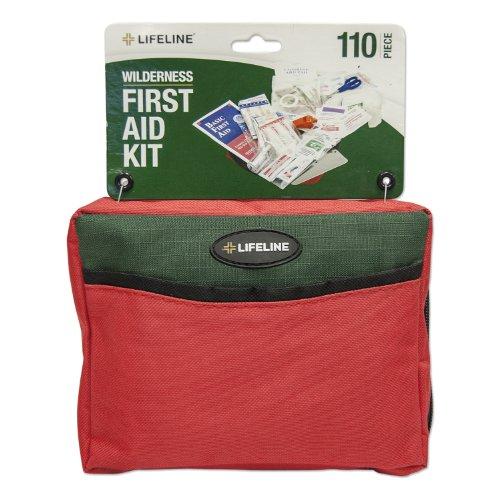 Lifeline Wilderness Emergency Pack 110 Pieces by Lifeline