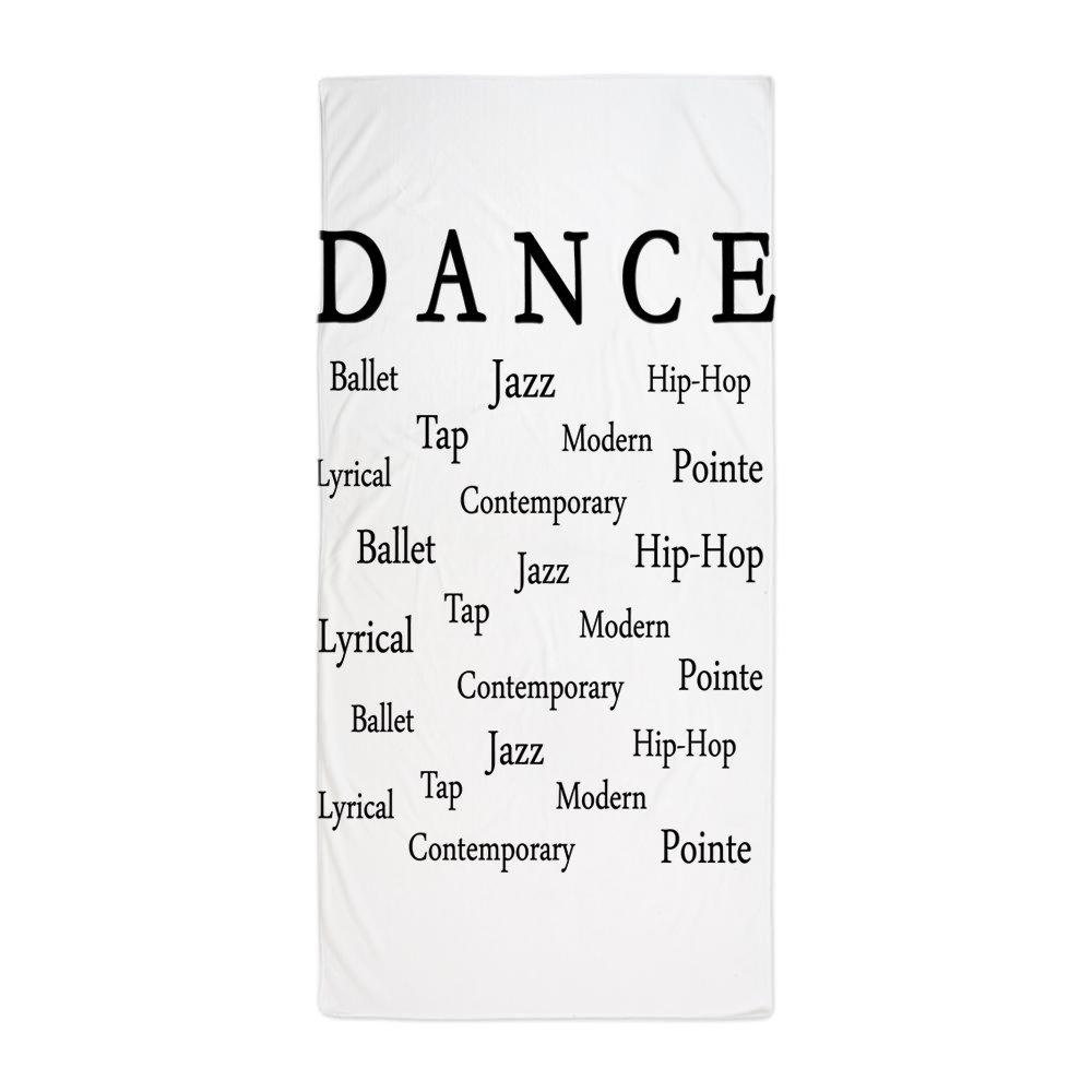 CafePress - Dance Words - Large Beach Towel, Soft 30''x60'' Towel with Unique Design