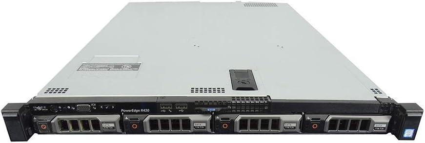 Dell PowerEdge R430 Server / 2X E5-2623 V3 3.0GHz = 8 Cores / 32GB RAM / H330 / 2X 3TB SAS (Renewed)