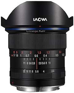 Laowa 12mm f/2.8 Zero-D Sony FE - Objetivo (amplio, MILC / SLR, 16/10, 22 - 2,8, Manual, Sony E)