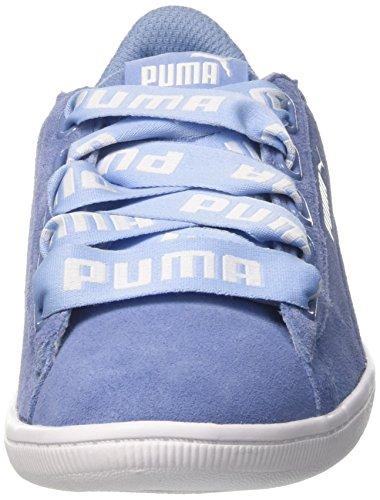 Vikky Femme Rot Basses Bold Ribbon Sneakers Puma dqvAwTX1d
