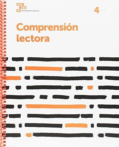 Comprensión lectora 4 Primaria Baula (Projecte Cuadernos Primaria Baula) - 9788447934423