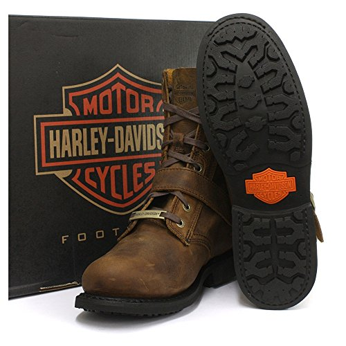 Harley Davidson RANGER - Bottines à lacets -CUIR marroN POINTURE 43
