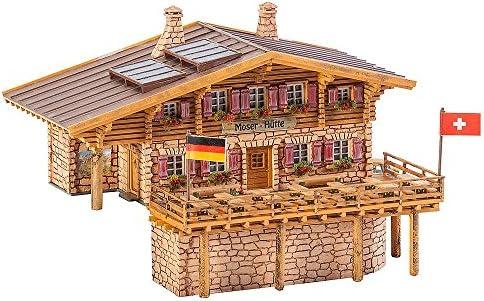 Faller FA 232356 – Cabaña de Alta montaña Moser de cabaña, Accesorios para el diseño de ferrocarril, Modelo: Amazon.es: Juguetes y juegos