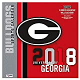 Georgia Bulldogs 2018 Calendar