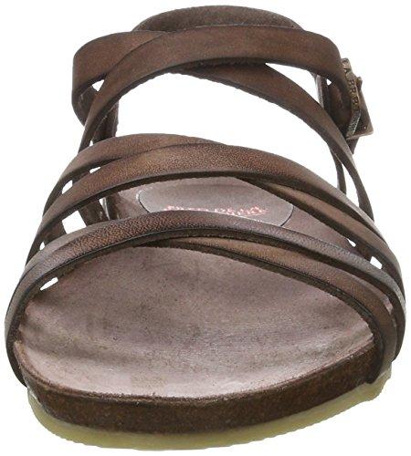 Fred de la Bretoniere Fred de La Bretoniere Sandale - Tira de tobillo Mujer marrón