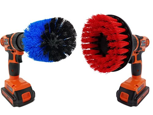 Beast Brush  Scrubbing Brush Drill Attachment Set Spin Power