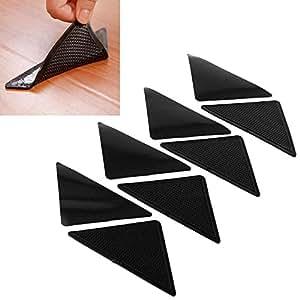 Amazon Com 4pairs Non Slip Silicone Grippers Rug Carpet