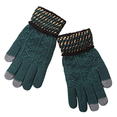 Sale DEATU Women Men Multi-function Couple Lover Riding Touchscreen Gloves Youth Winter Gift Soft Comfy Warm Mitten