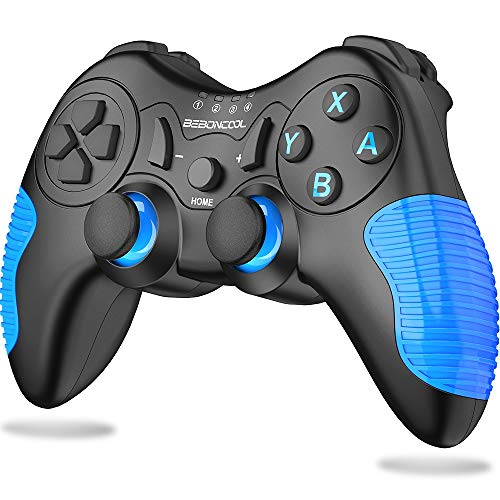 BEBONCOOL Wireless Controller for Nintendo Switch, Switch Controller Remote with Dual Shock, Gyro Axis, Switch pro Controller Gamepad Compatible with Bluetooth