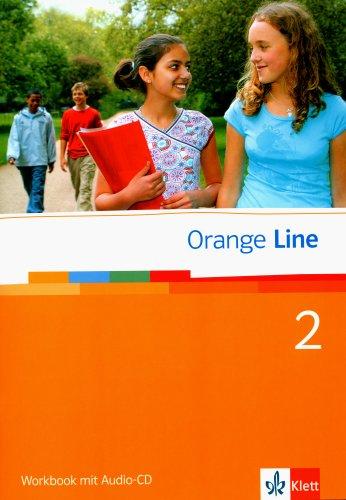 Orange Line / Workbook mit Audio-CD Teil 2 (2. Lehrjahr)