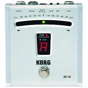 Korg DT10 Digital Guitar Foot Pedal Tuner