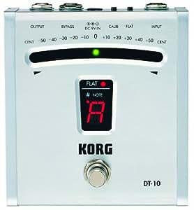Korg DT10 Digital Guitar Foot Pedal Tuner (japan import)