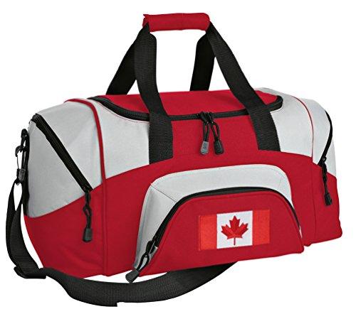 SMALL Canada Travel Bag Canada Flag Gym Bag